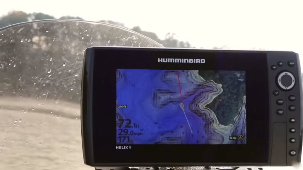 Humminbird Helix 9 Map
