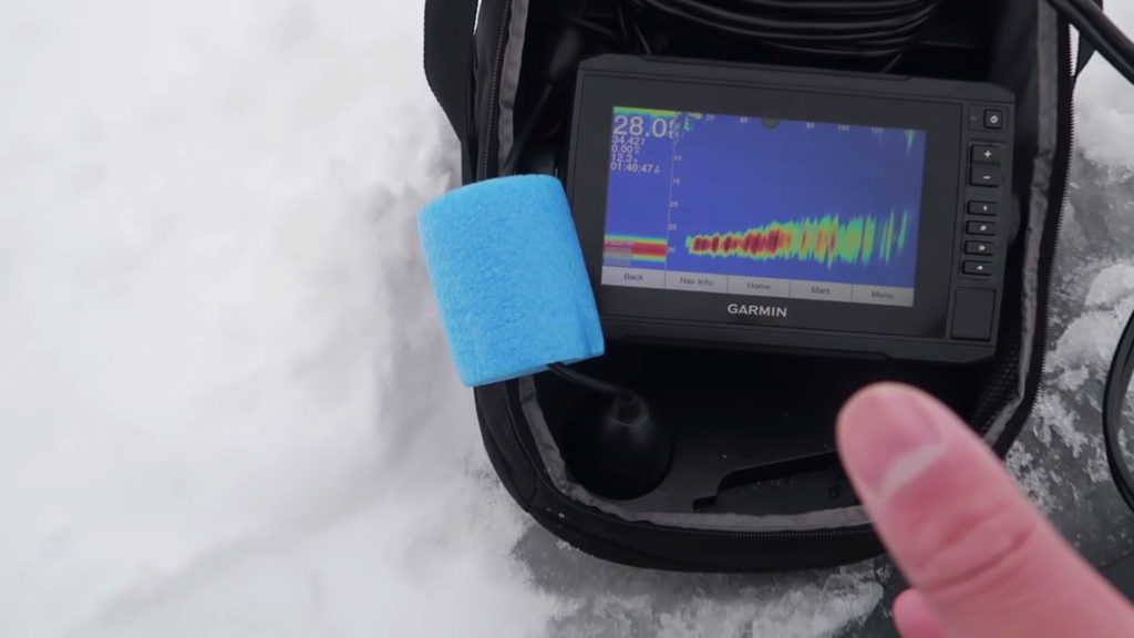 ice fish finder Material