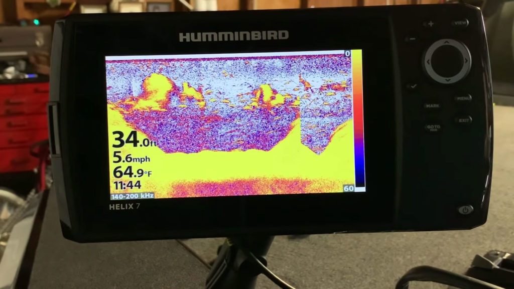 Humminbird Helix 7 Display